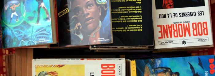 Bob Morane : de nombreuses éditions avec de superbes couvertures.